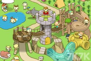 《奇思妙想之我的樂園》游戲畫面1