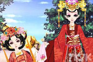 《古典江山美人装扮》游戏画面1