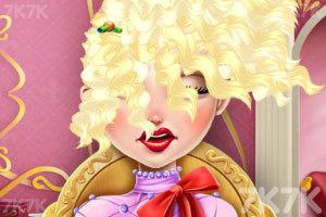 《苹果公主的潮流发型》游戏画面3