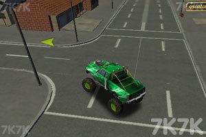 《3D怪物卡车停车》游戏画面2