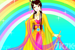 《古装彩虹仙女》游戏画面1