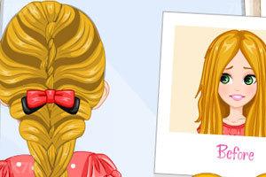 《开学做个新发型》游戏画面2