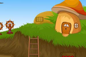 《蘑菇房子逃脱》游戏画面1