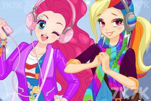 《时尚的彩虹女孩》截图3