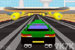 《3D复古赛车》游戏画面2
