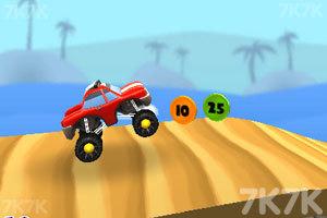 《3D山地爬坡赛》游戏画面2