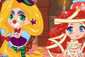 《小女巫万圣节整蛊》游戏画面1