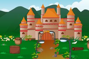 《古城堡找钻石逃脱》游戏画面1