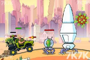 《武装越野车2无敌版》游戏画面8
