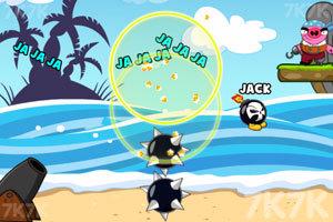 《轰炸海盗猪》游戏画面1