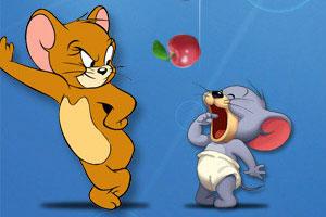 小老鼠吃苹果