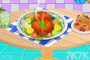《感恩节的火鸡大餐》游戏画面1