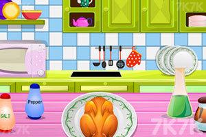 《感恩节的火鸡大餐》游戏画面3
