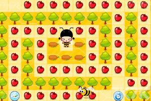 《小黑花花小蜜蜂》游戏画面1