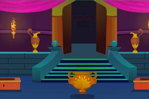 《蓝色城堡逃脱》游戏画面1