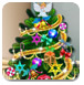 莱利布置圣诞树