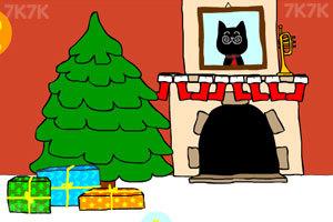 《小黑过圣诞》游戏画面1