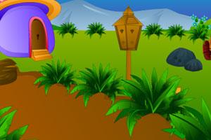 《蘑菇森林寻宝逃脱》游戏画面1
