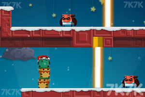 《盒子英雄大冒险圣诞版》游戏画面1