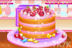《柠檬山莓蛋糕》游戏画面1