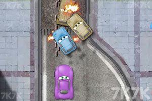 《汽车总动员飞车》游戏画面2