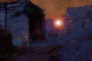 《荒凉的城堡逃脱》游戏画面1