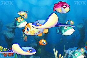 《一起吃鱼》游戏画面1