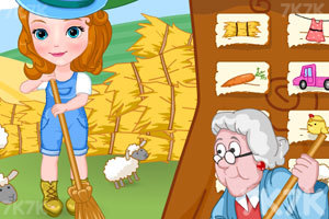 《索菲亚农场偷懒》游戏画面4