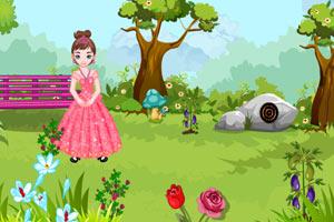 《公主逃脱花园》游戏画面1