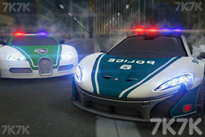 《迪拜警車競速賽》游戲畫面1