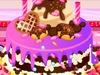 米妮做巧克力蛋糕