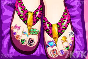 《美丽的脚趾甲》游戏画面1