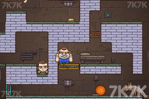 《老爸儿子齐越狱3选关版》游戏画面2