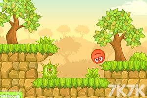 《小红球闯关5无敌版》游戏画面1