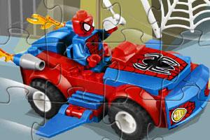 蜘蛛侠汽车拼图