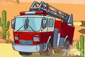 《西部消防车》游戏画面1