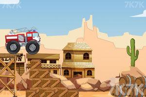 《西部消防车》游戏画面2