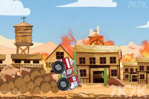 《西部消防车》游戏画面3