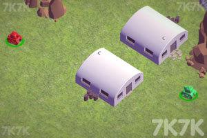 《双人坦克对战》游戏画面1
