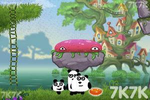 《小熊猫逃生记5选关版》游戏画面1