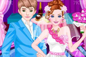 《浪漫的情人节婚礼》游戏画面1