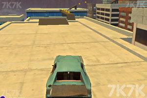 《屋顶特技飞车》游戏画面3