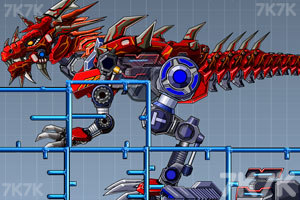 《组装暴力霸王龙》游戏画面4