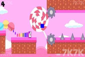 《奔跑吧彩虹女士》游戏画面2