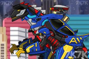 《组装机械组合黑龙》游戏画面1