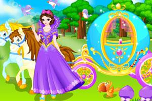 公主清洗马车