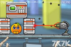 《拯救橙子太空旅行无敌版》游戏画面1