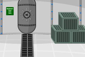 《无人的潜艇逃脱》游戏画面1