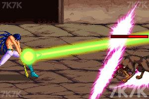 《圣斗士星矢之银河战争》游戏画面3