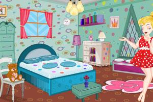 《小叮当布置卧室》游戏画面1